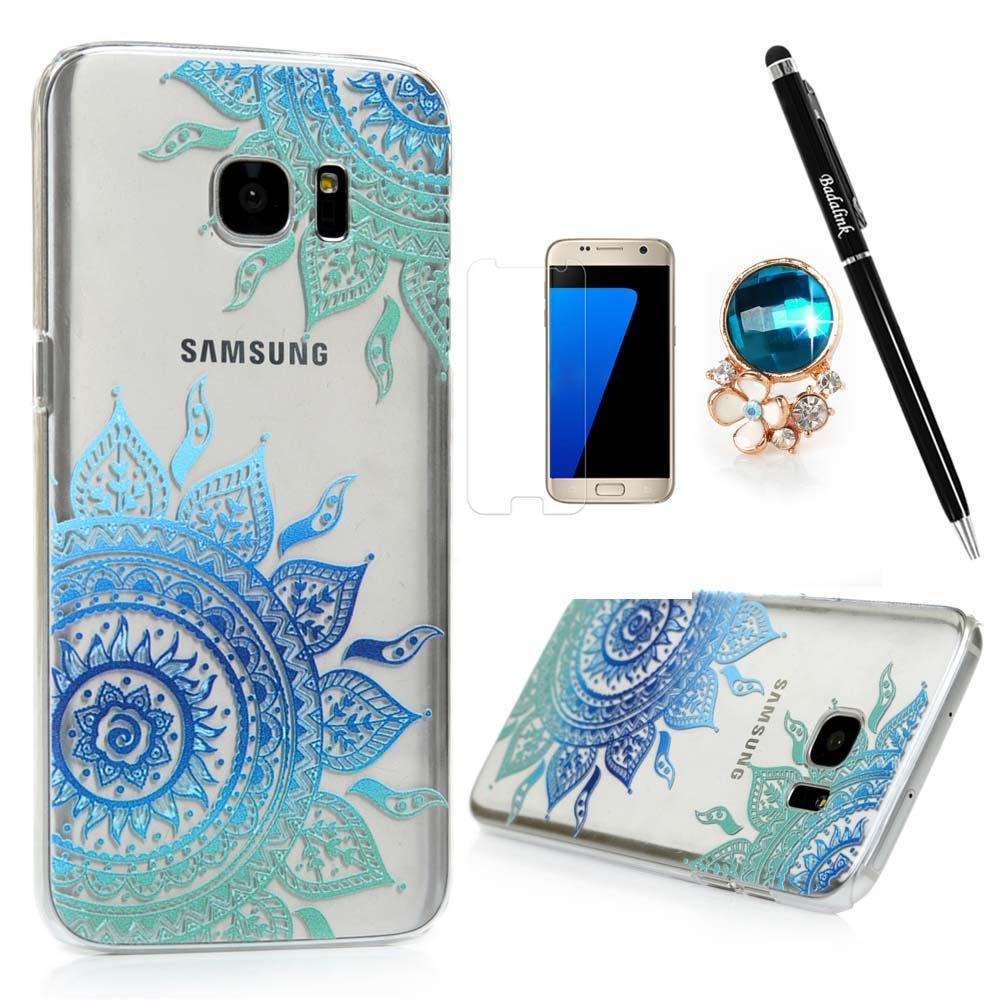 Modish Amazon.com: Samsung Galaxy S7 Edge Case Clear Colorful Case Cute KQ-05