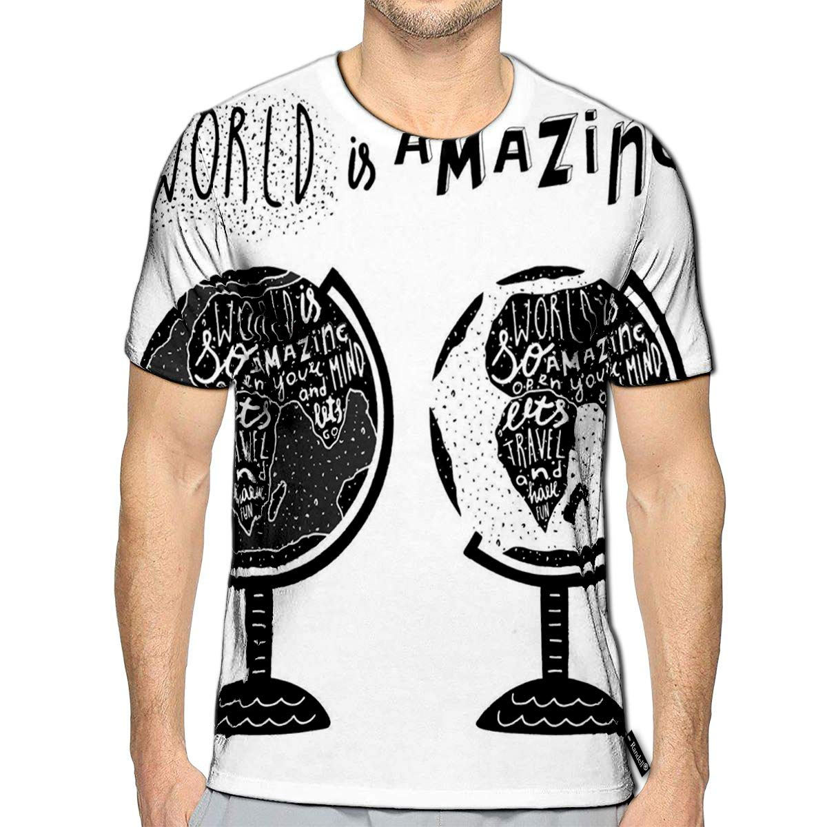 Randell 3D Printed T-Shirts The Biggest Mistake You Could Ever Make is Being to Afraid T