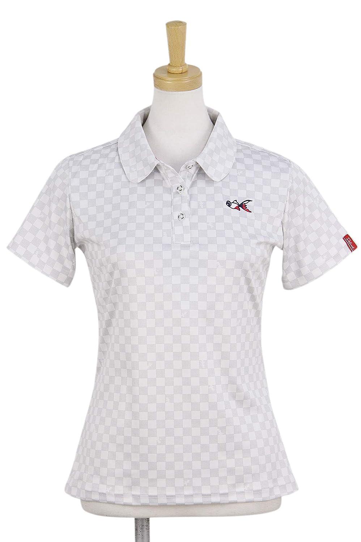 半袖ポロシャツ レディース デルメ Delme ゴルフウェア dl-p34w M(M) ホワイト(00) B07S4HB4BF