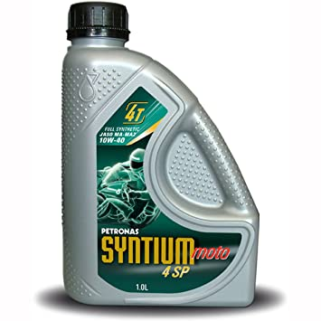 Petronas Syntium 4 SP 4 tiempos 10W40 Aceite 4ltr