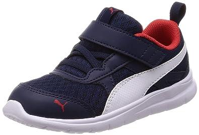 49ef8ea841eb Puma Scarpe Baby Sneakers Flex Essential in Tela blu 190684-02 ...