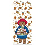 Paddington Bear Party Cello Bags with Twist Ties Pack of 20 - Perfect for party loot bags, cake bags, treat bags and more!