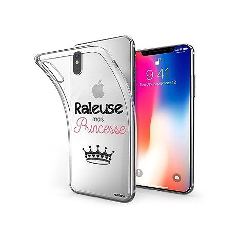 coque iphone x silicone princesse