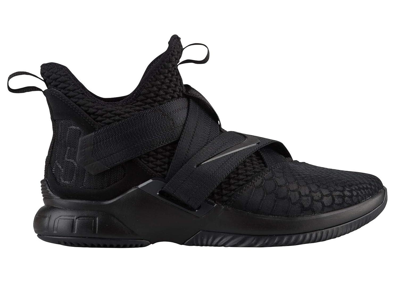 Noir (noir noir noir 003) 42 EU Nike Lebron Soldier XII SFG, Chaussures de Fitness Homme