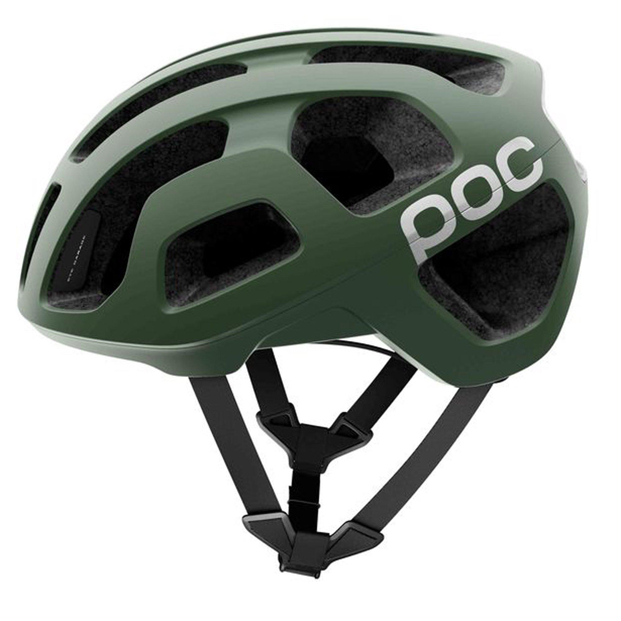 POC Octal, Helmet for Road Biking, Hydrogen, Septane Green, M