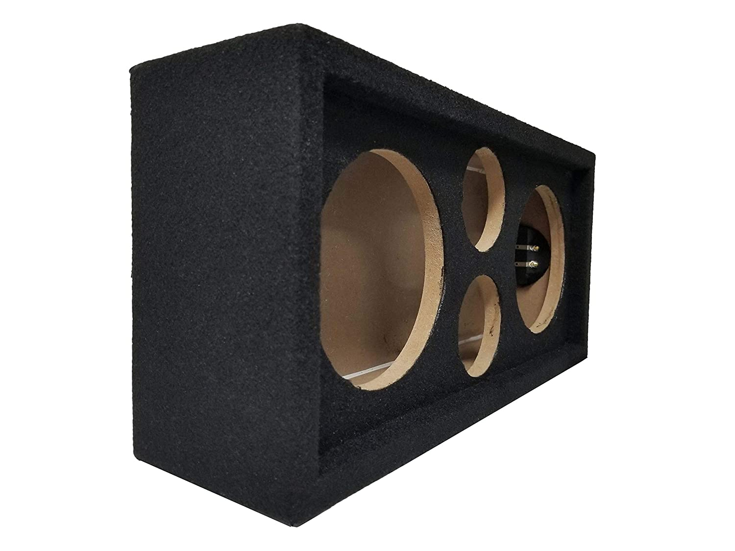 Car Aduio Installations BRCH6, Black Bass Rockers Chuchero Boxed for Voice Speakers and Tweeters