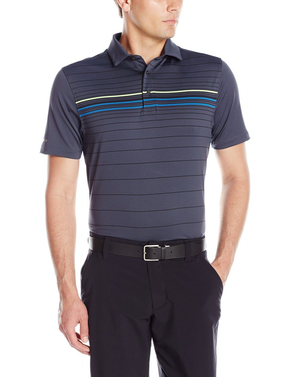 Under Armour 2016 UA Coldblack Rayas Polo de Golf, Multi-Coloured ...