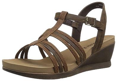 10ec543cd0 Amazon.com | BEARPAW Women's Viola Sandal | Flats