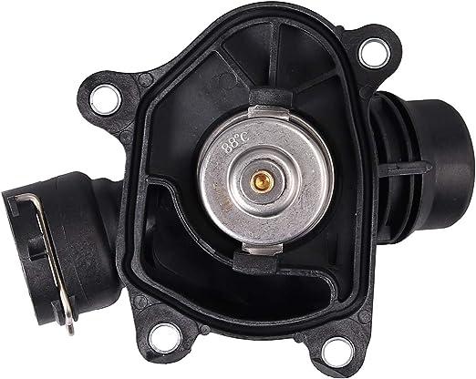 eGang Auto 11517789014 11517805811 11517787113 Bo/îtier de thermostat moteur avec joint pour BMWS 318d 320d E46 E87 E61 X3 X5 X6 2009 2010 2011 2012 2013