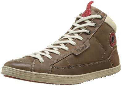 ad0cf8eb5ed0a7 Kickers Ambassade, Baskets mode homme - Marron (Marron Clair), 40 EU ...