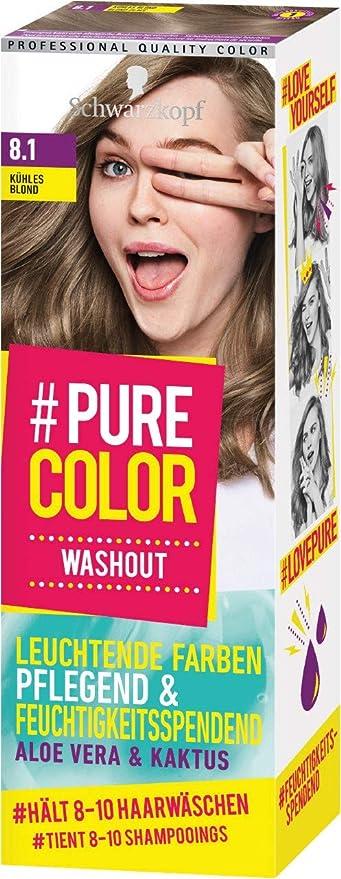 Schwarzkopf #Pure Color Washout 8.1 - Tinte para el cabello ...