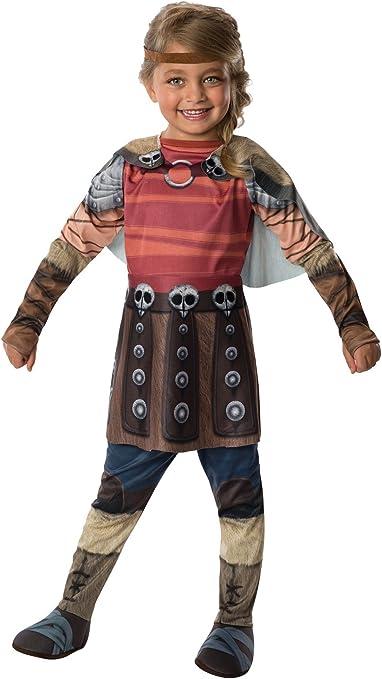 Amazon Com Rubies How To Train Your Dragon 2 Astrid Costume Child Medium Clothing