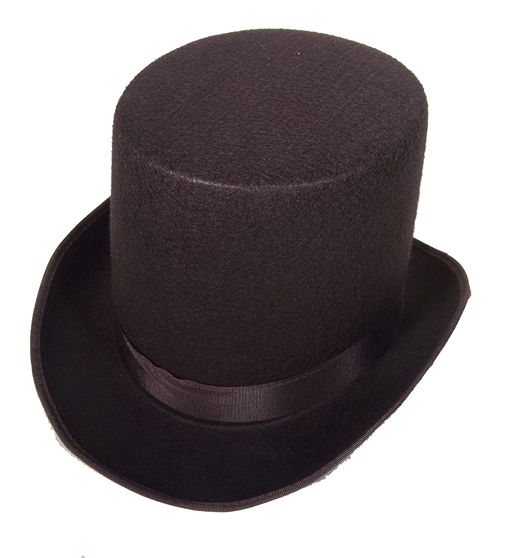a3434be9caa Amazon.com  Coachman Costume Top Hat Victorian Top Hat Coachman Hat Dickens  Top Hat 16362  Clothing