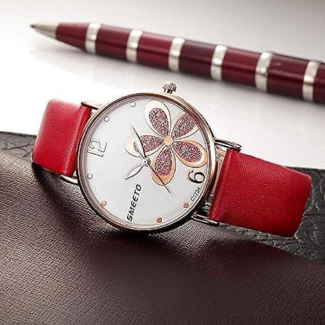Amazon.com: 2018New Womens Quartz Watch, Windoson Ultra-Thin Four-Leaf Leathe Strap Fashion Womens Diamond Watch Boutique Minimalist Round Dial Analog ...