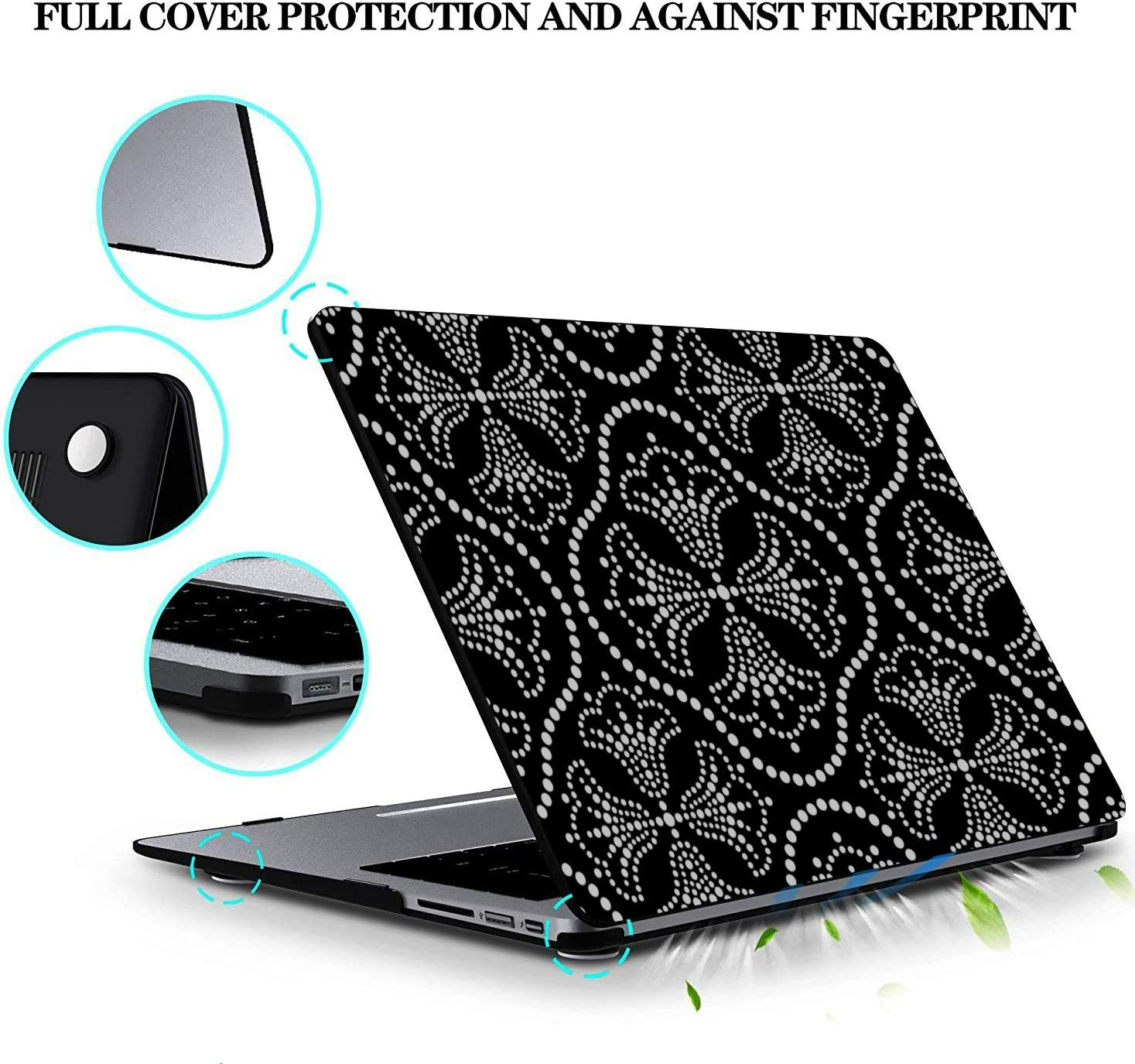 Passport Cover Holder For Women Dog Cat Paw Doodle Stylish Pu Leather Us Passport Cover Passport Holder Cover For Women Men Passport Cover For Men