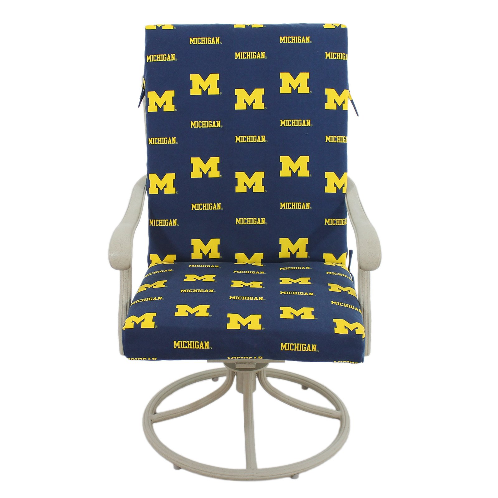 College Covers Michigan Wolverines 2 Piece Chair Cushion