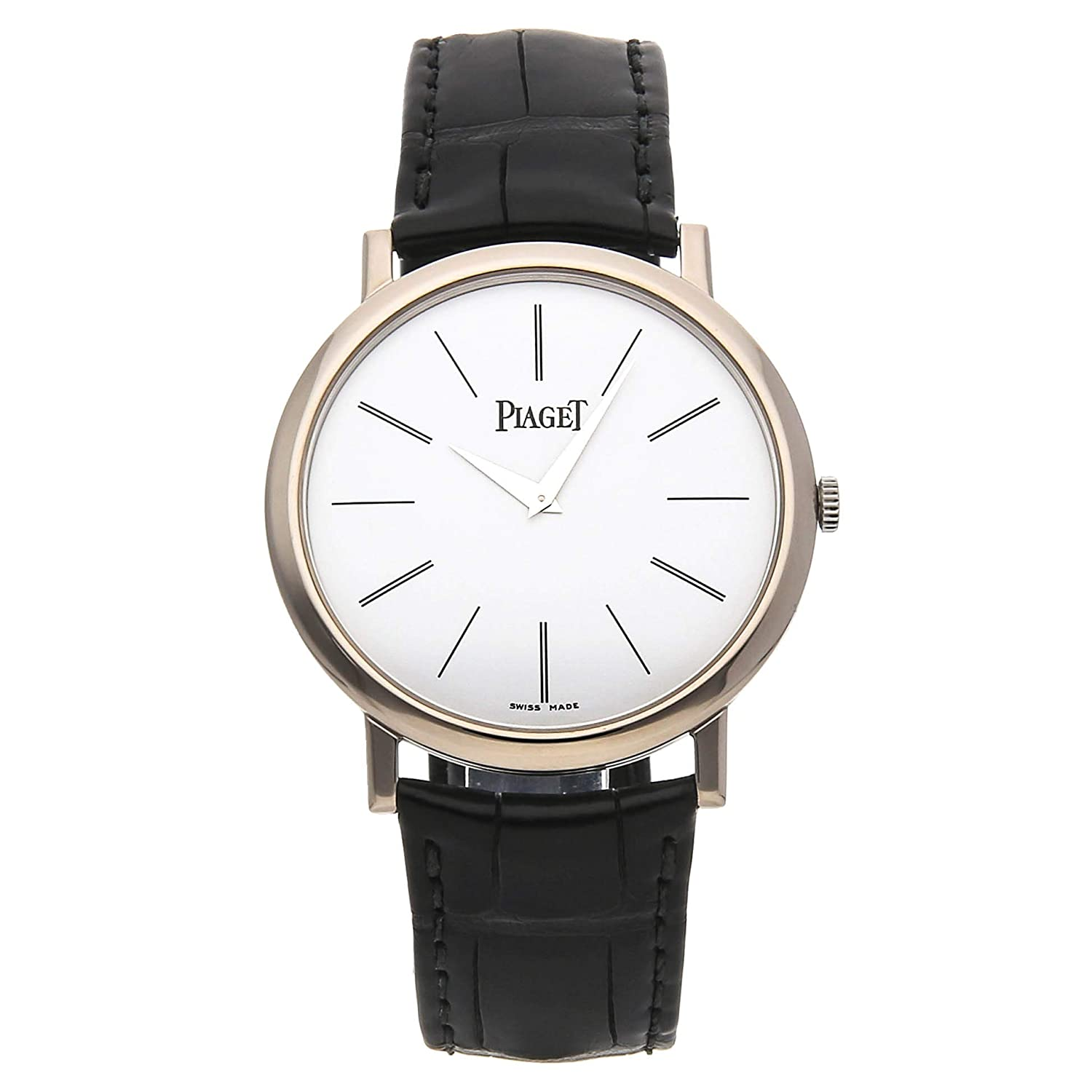 b35b1f1bacb Amazon.com  Piaget Altiplano Mechanical (Hand-Winding) White Dial Mens Watch  G0A29112 (Certified Pre-Owned)  Piaget  Watches