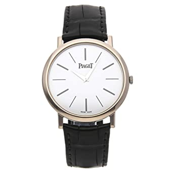 013af8a781a Image Unavailable. Image not available for. Color  Piaget Altiplano  Mechanical (Hand-Winding) White Dial Mens Watch ...