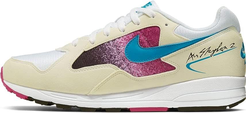 Nike Air SKYLON II, Zapatillas de Atletismo para Niños, Multicolor (White/Blue Lagoon/Active Fuchsia 110), 35.5 EU: Amazon.es: Zapatos y complementos