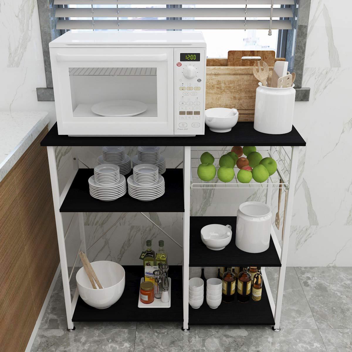 Amazon.com: Sogesfurniture BHUS-W5S - Estante para horno ...