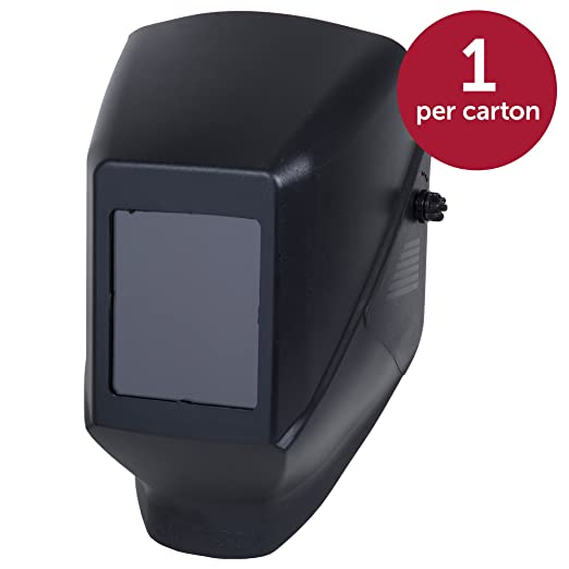 Jackson Safety Fixed Shade HSL 100 Welding Helmet (14973), with 386 Cap Adapter, Black, 4 Units/Case: Amazon.com: Industrial & Scientific