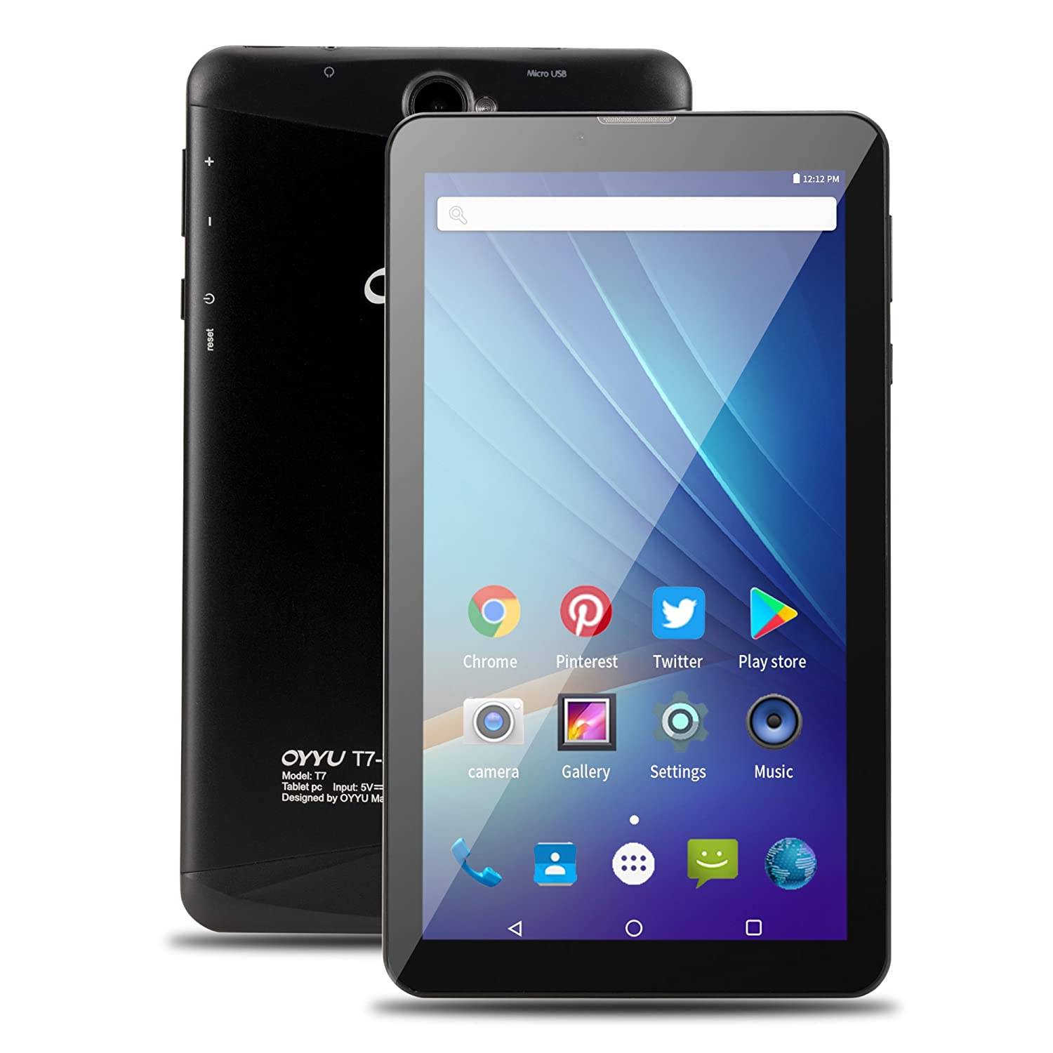 oyyu t7 pro 7 inch 4g lte phablet android 7 0 dual sim. Black Bedroom Furniture Sets. Home Design Ideas