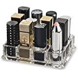byAlegory Acrylic Lipstick Organizer and Holder For Storage of Cosmetic Makeup Items