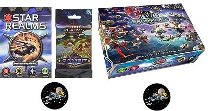 Amazon.com: Star Realms - Juego de base de juegos, frentes ...