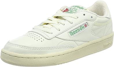 De confianza desmayarse Vivienda  Amazon.com   Reebok Club C 85 Vintage Retro Sport BS8242 White ...
