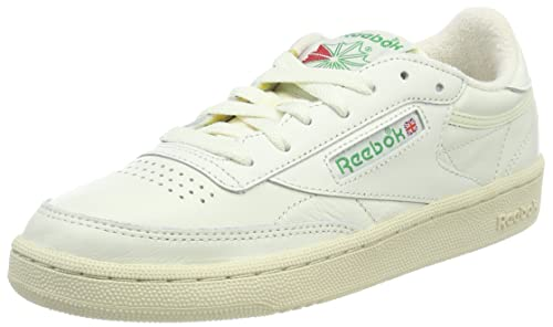 4eefe88b42845 promo code for reebok club c 85 vintage zapatillas para mujer gris chalk  glen green 73f67