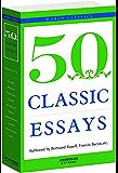 50 CLASSIC ESSAYS:经典随笔50首(英文原版,免费下载配套朗读) (西方经典英文读物 Book 10) (English Edition)