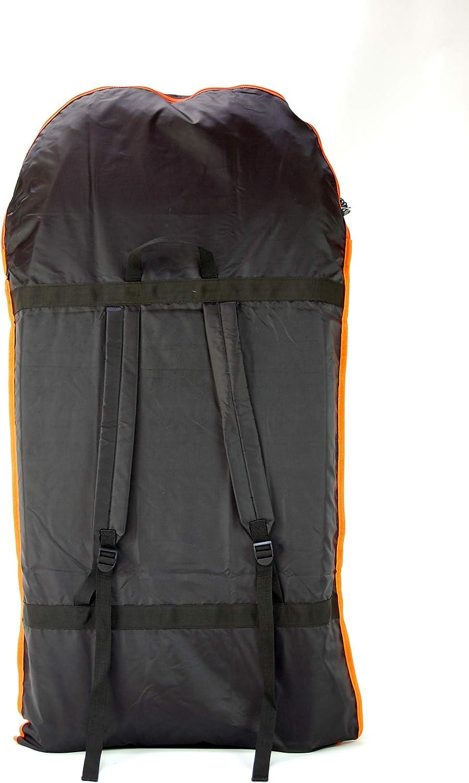 Talla /única TWF 1040-ONE-00 Bolsa de Bodyboard Unisex Color Negro