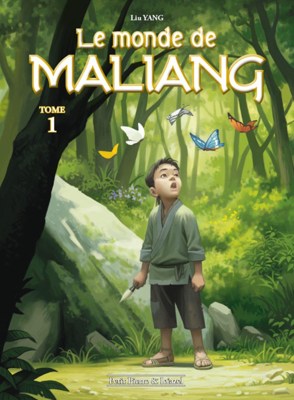 Le monde de Maliang, Tome 1 : Le pinceau : Avec un ex-libirs Album – 26 mai 2016 Liu Yang Editions Clair de Lune 2353257577 BD jeunesse