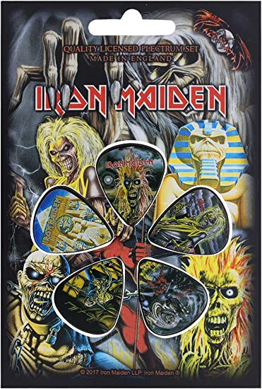5 pack *NEW* Plectrums // Picks early albums Iron Maiden
