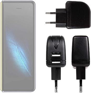 DURAGADGET Cargador con Enchufe Europeo Compatible con Smartphone ...