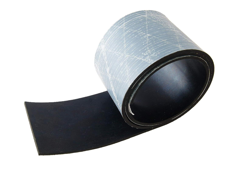 1000x80x10mm Gummistreifen mit Klebeschicht St/ärke 10 mm in verschiedenen Gr/ö/ßen w/ählbar