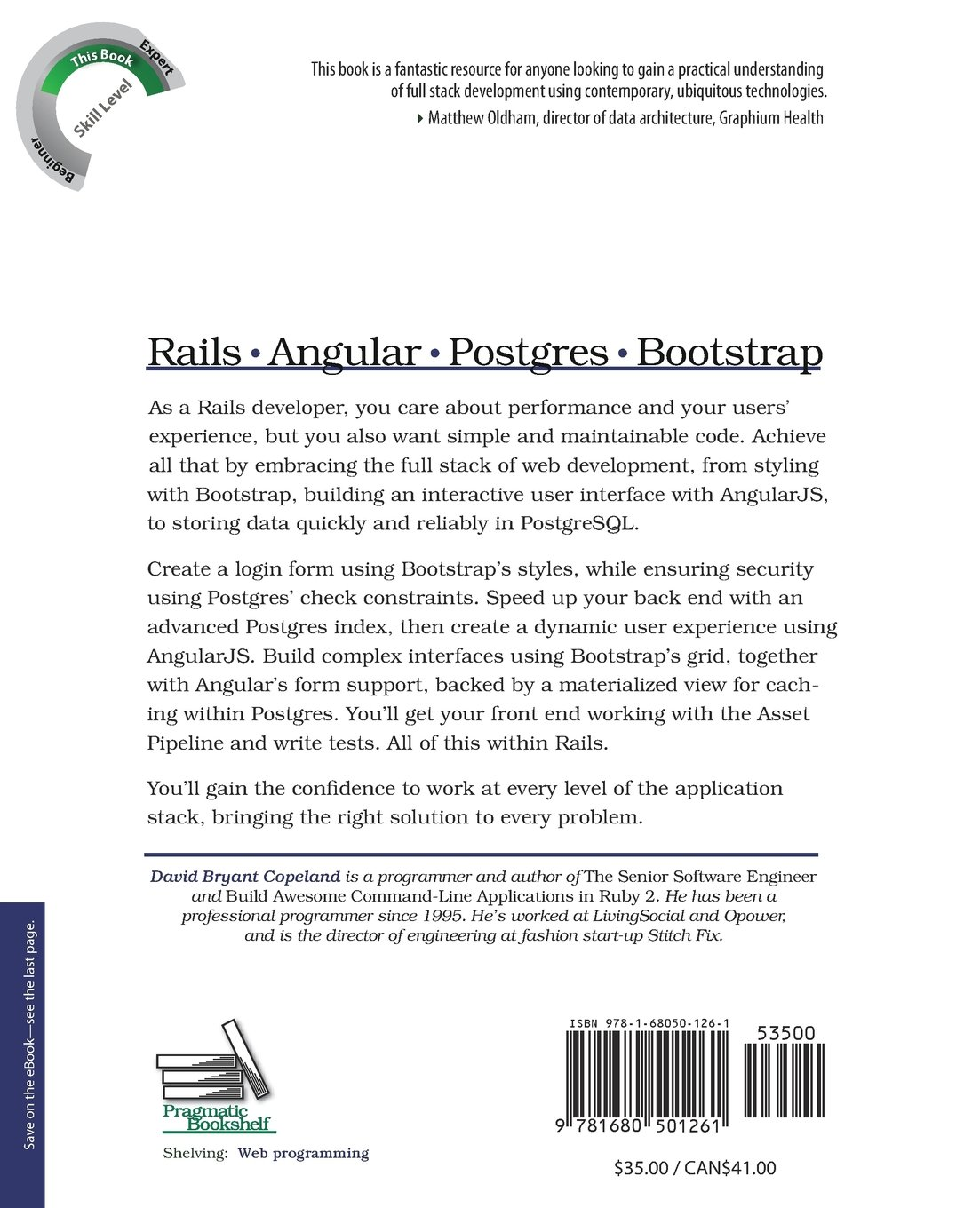 Rails Angular Postgres And Bootstrap Powerful Effective And