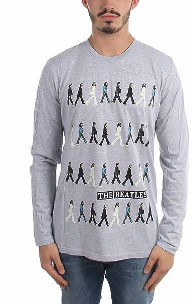 4cf42e2795bfd Générique The Beatles - Abbey Road - T-Shirt à Manches Longues à Manches  Longues pour Homme  Amazon.fr  Vêtements et accessoires