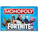 Monopoly Fortnite by Epic Games Edition - Board Games - Tilted Towers, Storm Cards, Pay in HP - 2 to 7 players - Kids…