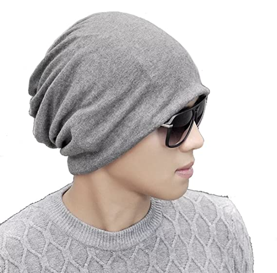 3b960cade Slouchy Beanies Hats Knit Mens Beanie Hat for Women Summer Cute Hat Beanie  for Jogging, Cycling by W&Y YING