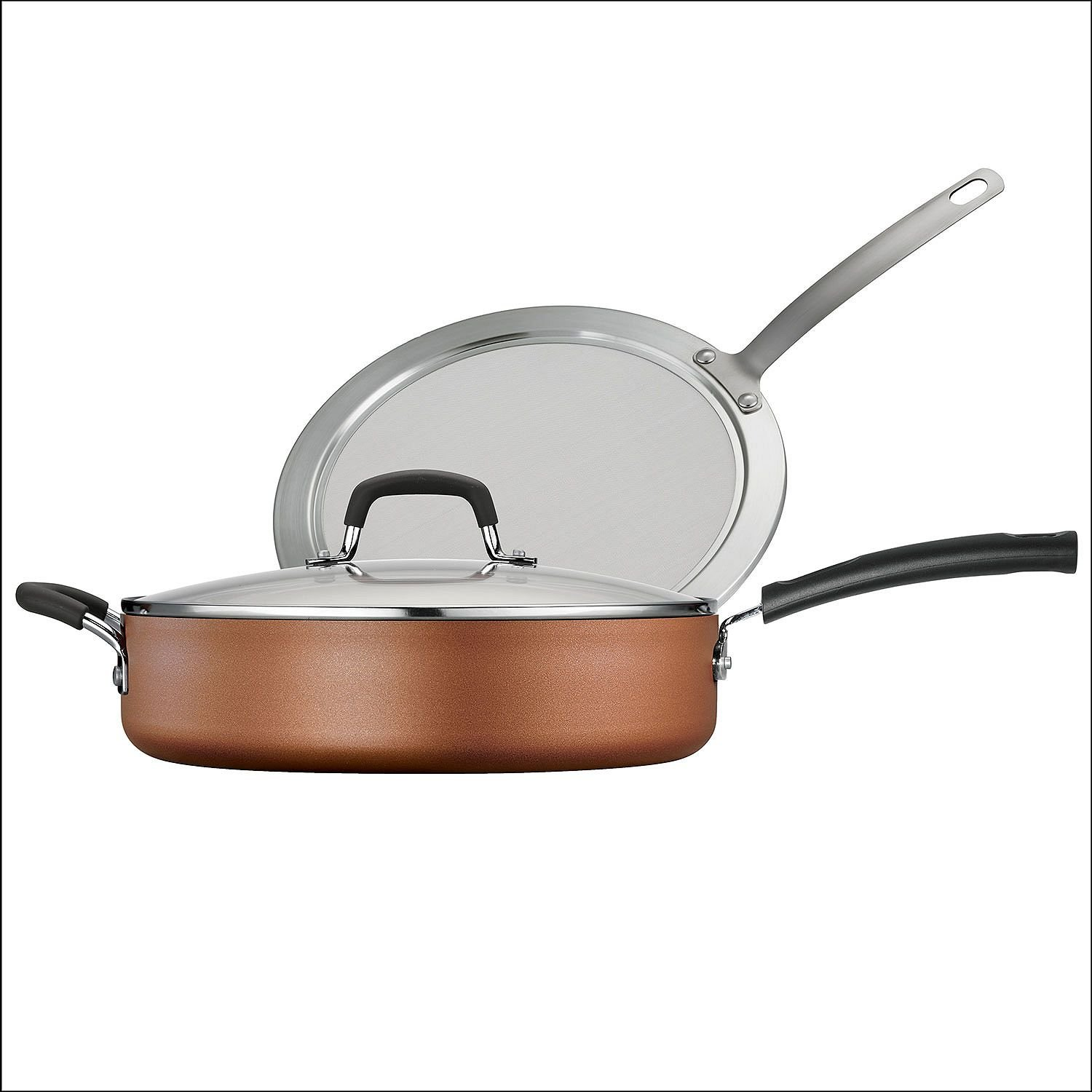 Tramontina 3-Piece Deep Saute Pan Set (Copper) - 80143/588