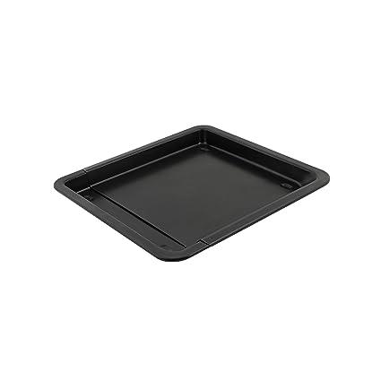 axentia 253490 - Bandeja para el horno universal, color negro