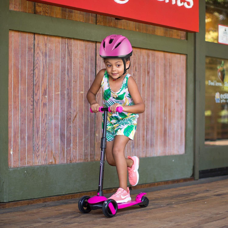 6KU Kids Bike Helmet CPSC Certified Adjustable for Toddler Kids Ages 2 or Older Boys and Girls,Multi-Sport Safety Cycling Skating Scooter Helmets