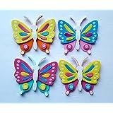 Foam Butterfly Craft Kit- Makes 24