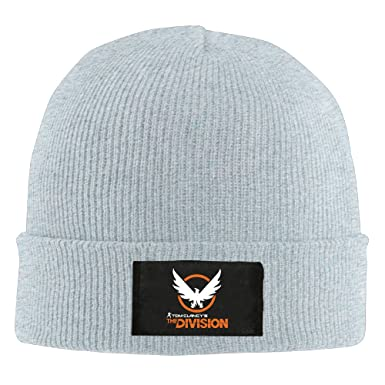 5023fdc2090 Game Tom Clancy s The Division Logo Beanie Hats For Men Women Ash (4 Colors)