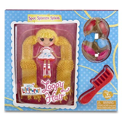 Mini Lalaloopsy Loopy Hair Doll - Spot Splatter Splash: Toys & Games