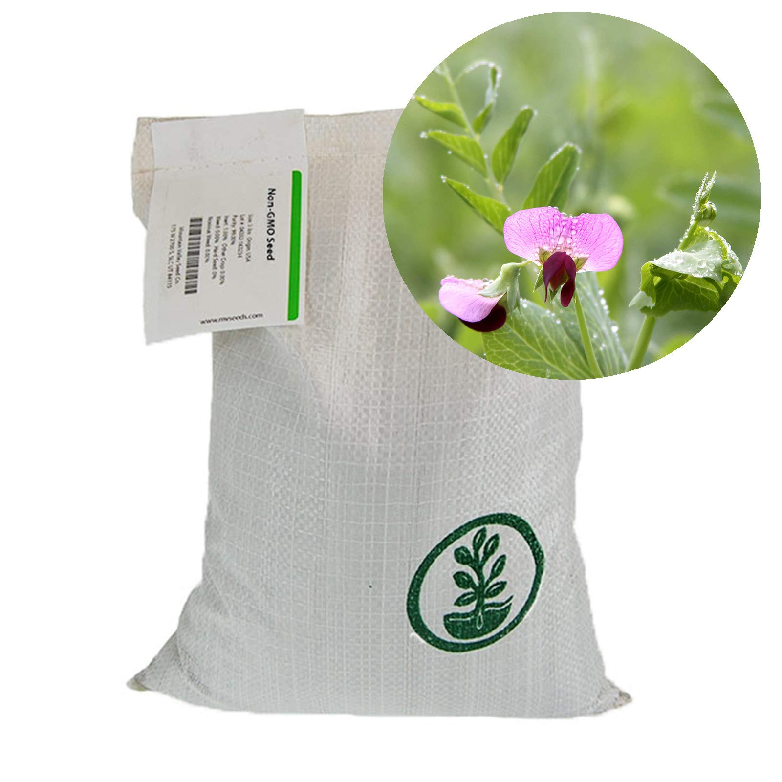 Austrian Field Pea Cover Crop Seeds - 50 Lbs Bulk - Nitrogen Fixing Viny Legume Cover Crop by Mountain Valley Seed Company