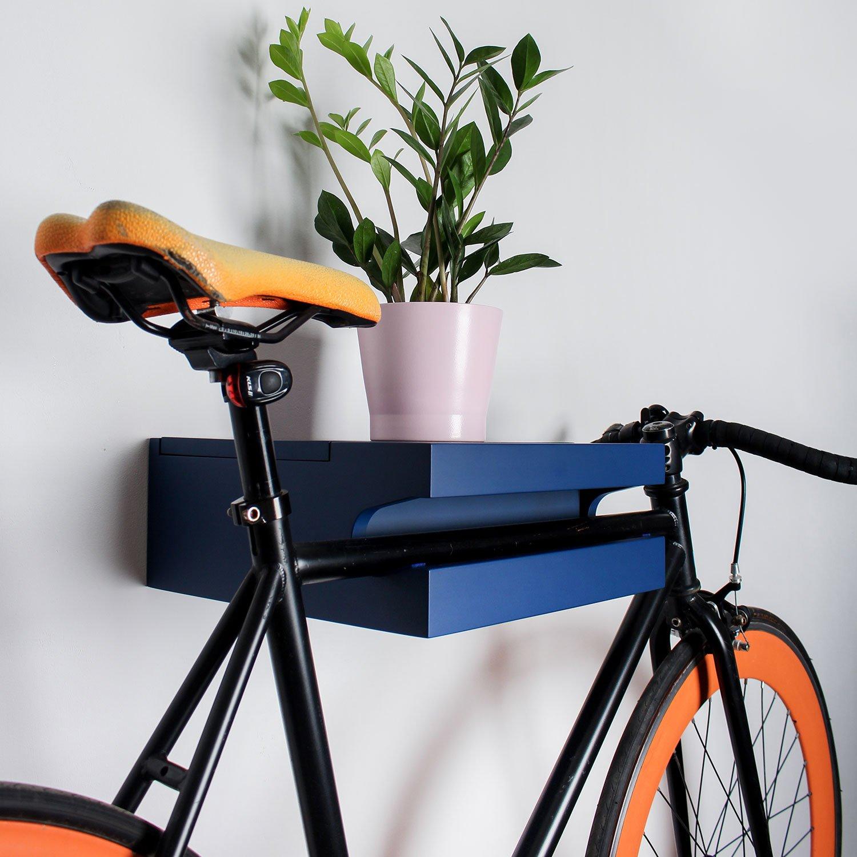 Twonee Fahrrad Wandhalterung Amsterdam Aus Massivem Eschenholz