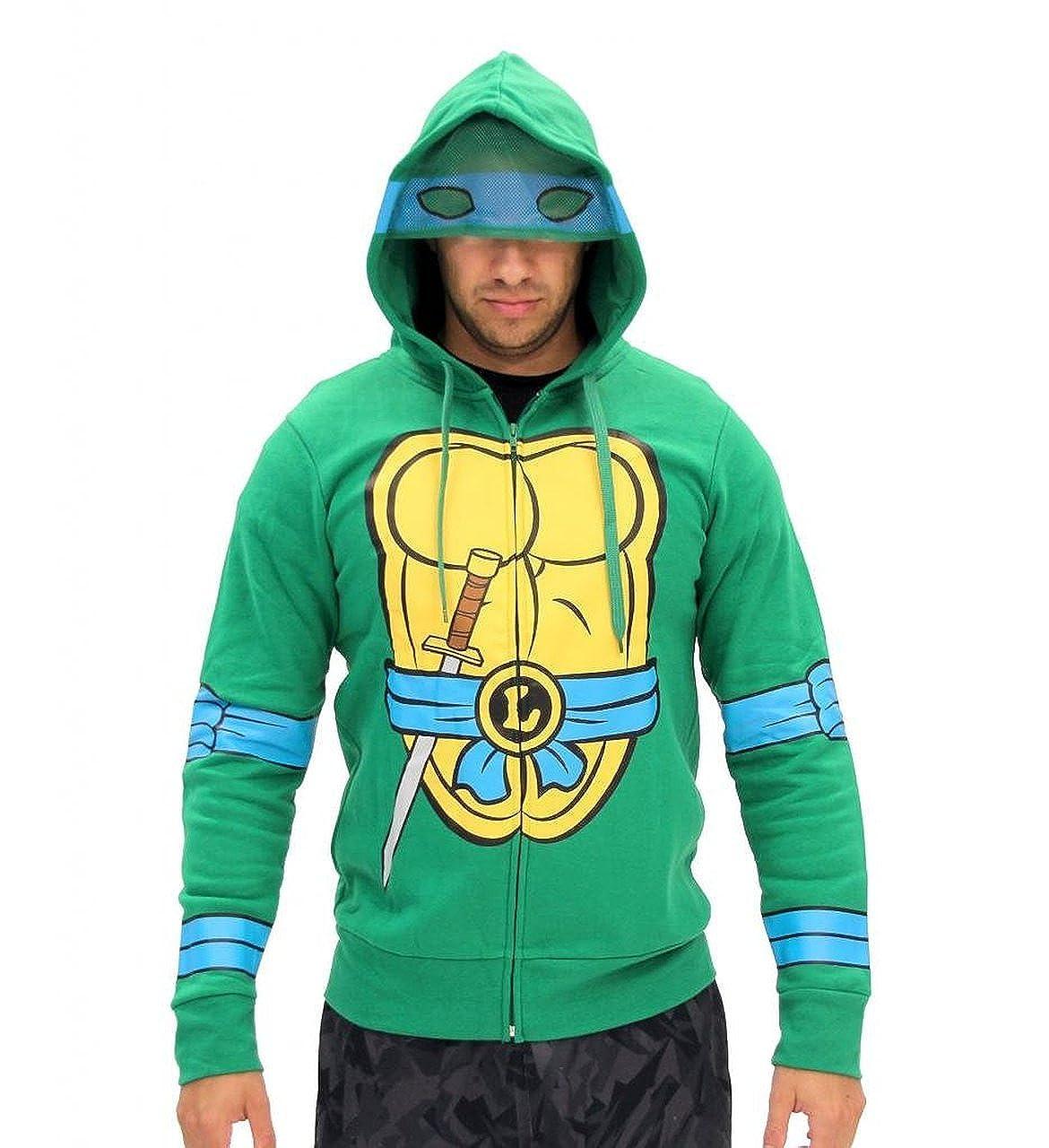 Teenage Mutant Ninja Turtles Costume Zip Hoodie