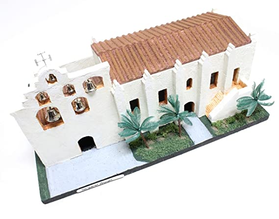 California Mission Model Kit San Gabriel Arcangel